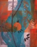 Abstract by Bridget Rust, Artist Print