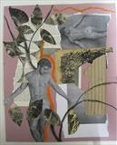 Adonis by Bridget Rust, Painting, Collage