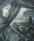 'Awaken' by Bridget Rust, Artist Print, Etching and aquatint