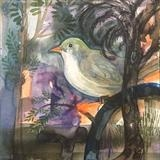 Bird by Bridget Rust, Painting, Watercolour on Paper
