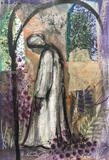Figure by Bridget Rust, Painting, Mixed Media