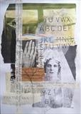 Lament by Bridget Rust, Painting, Collage
