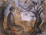 Stillness by Bridget Rust, Artist Print